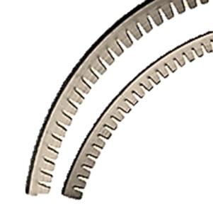 Snijlijnen roterend